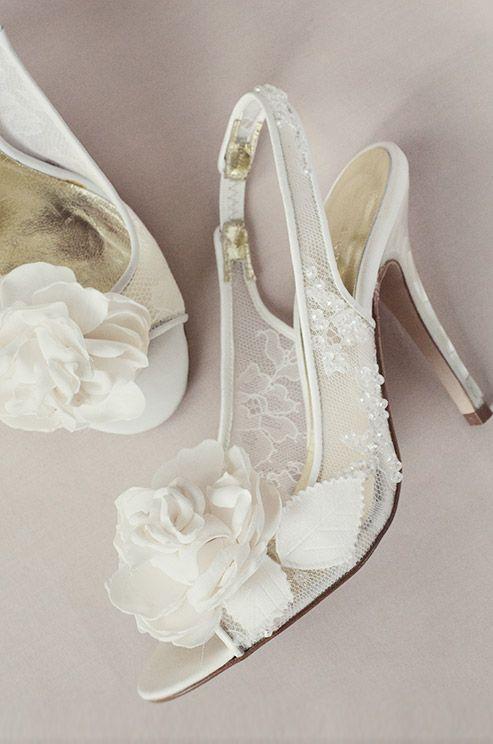 زفاف - أحذية فريا روز الزفاف