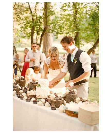 Boda - Ideas al aire libre de la boda real