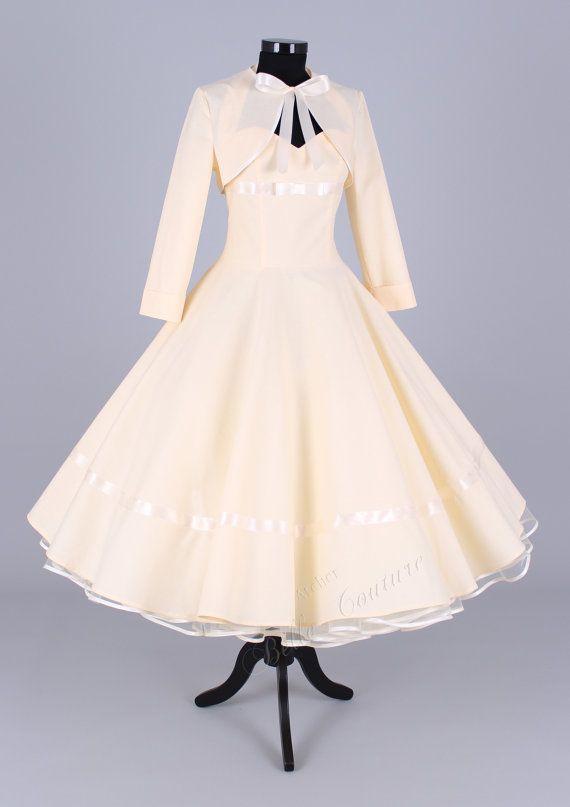 50er Hochzeit 50er Jahre Hochzeitskleid Artikel Marie 2126189