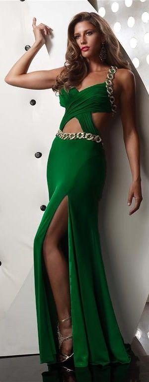 Wedding - Gowns.....Gorgeous Greens