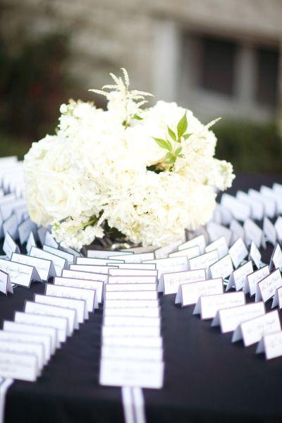 Hochzeit - Tabelle Pläne und Eskorte-Karten