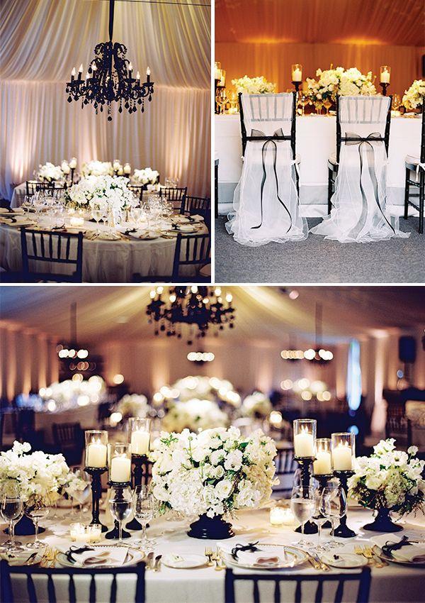 زفاف - حفلات الزفاف - أبيض وأسود