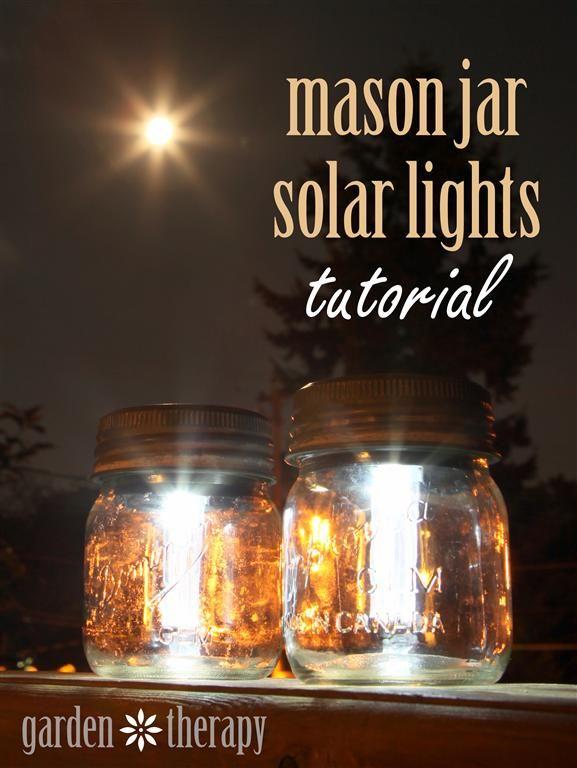 Wedding - Mason Jar Solar Lights