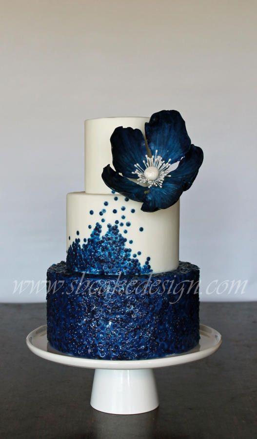 Свадьба - Богиня Синий