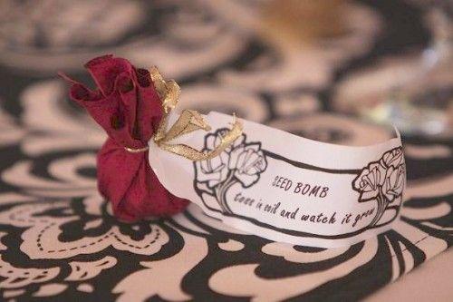 Eco Hochzeit Oko Gunst Seed Bombs 2127155 Weddbook