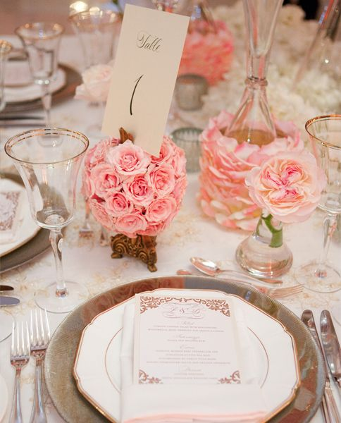 Mariage - Planification de mariage: tablescapes