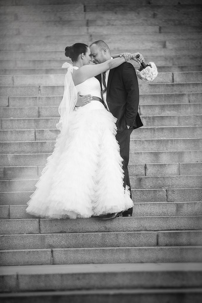 Wedding - Black & White Love - Wedding