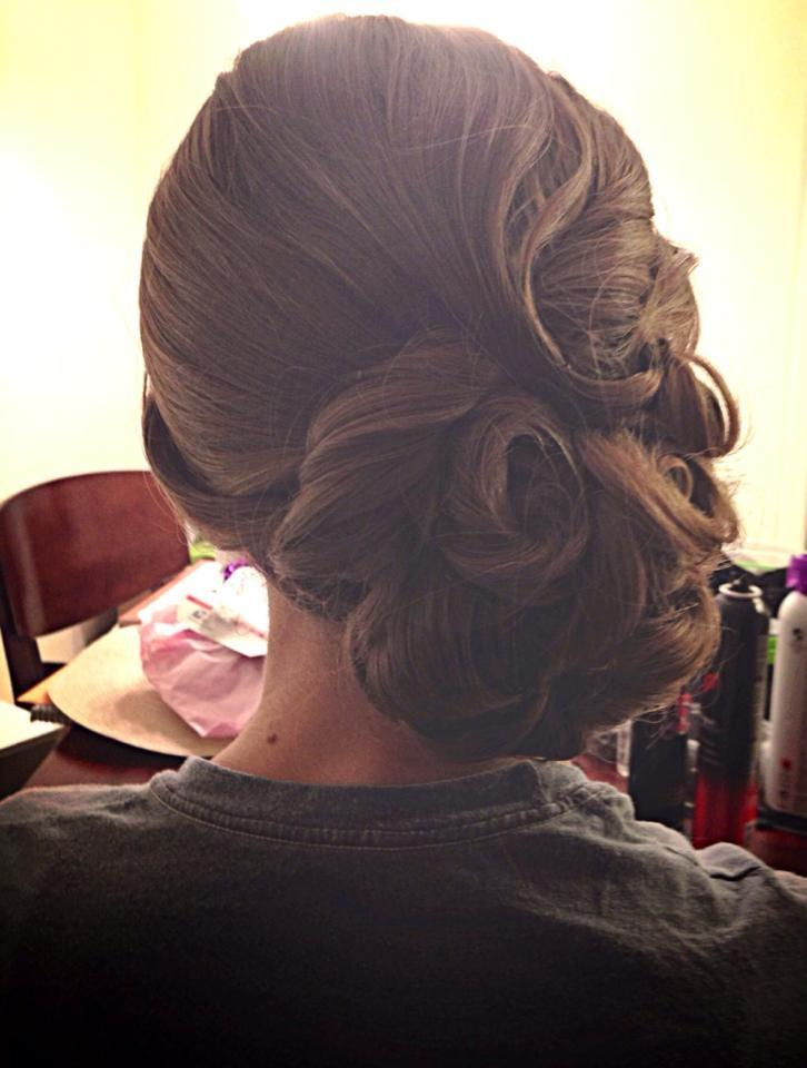 زفاف - الشعر وصيفة الشرف ل