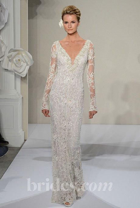 Wedding - Wedding Dresses With Long Sleeves From The Bridal Runways