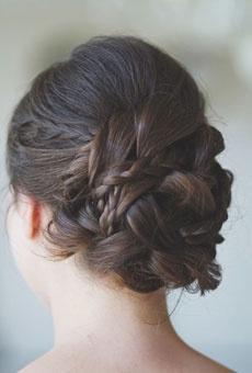 Hochzeit Frisuren Hochzeits Frisuren Fur Glattes Haar 2128300