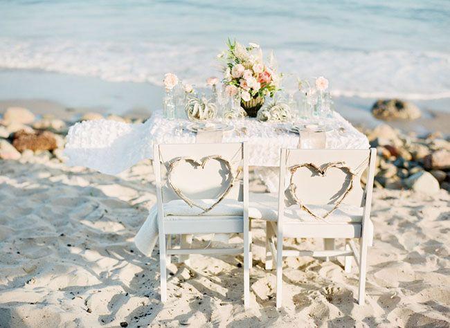 Bohème de mariage de plage Inspiration
