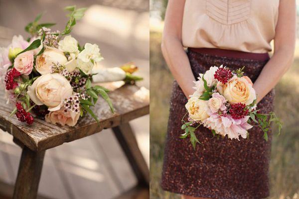 Hochzeit - Freitag Blumen: Scabiosa