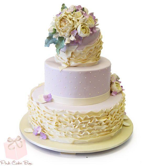 Lavendel Rusche Hochzeitstorte Fruhling Hochzeitstorten 2129137