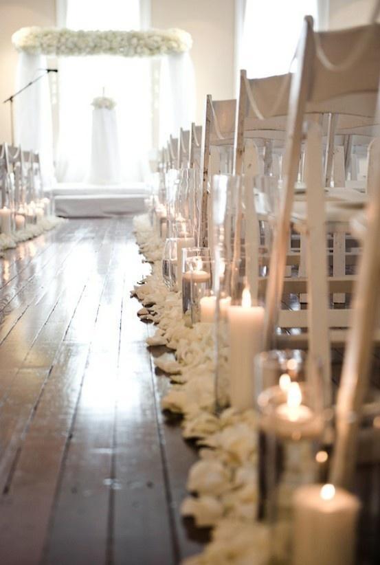Hochzeit - Gehen zur Kapelle