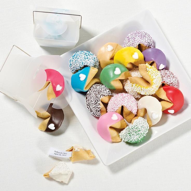 Поздравление от печенье