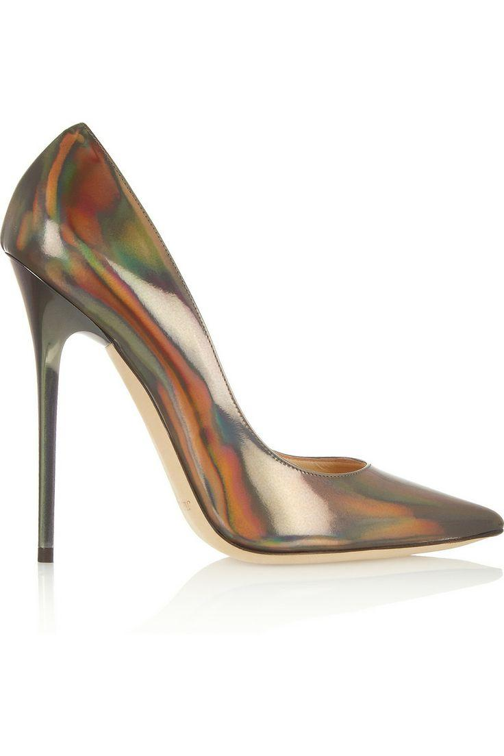 Wedding - Anouk Holographic Leather Pumps
