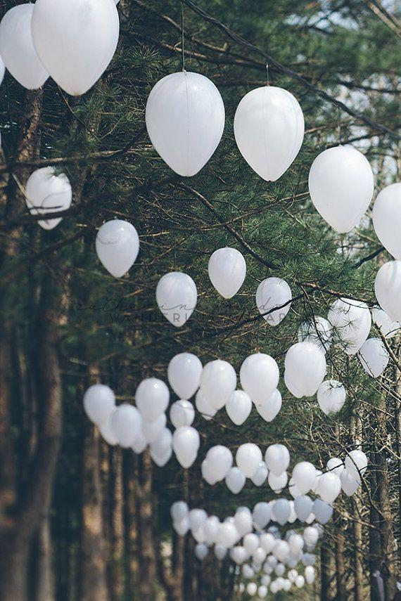 Wedding - Romantic Forest - Photographic Print - Korea, Asia, Travel, Wanderlust, Decor, Lanterns, White, Green, Wall, Hanging, Adventure, Namiseom