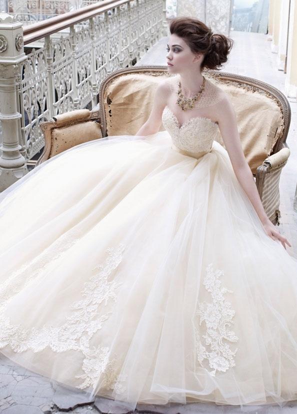 vestidos de novia 2015 lazano