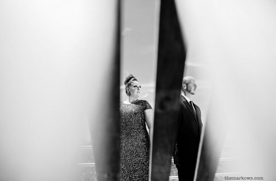 زفاف - كريستين وديفين