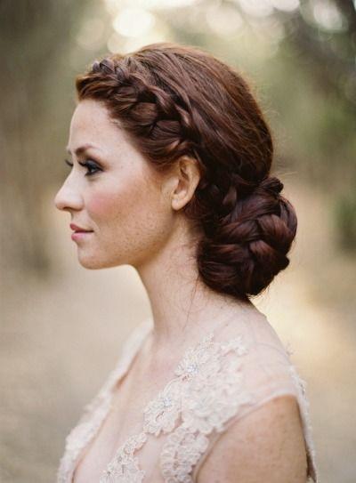 Hochzeit Frisuren Eine Brautjungfer Haar 2130307 Weddbook