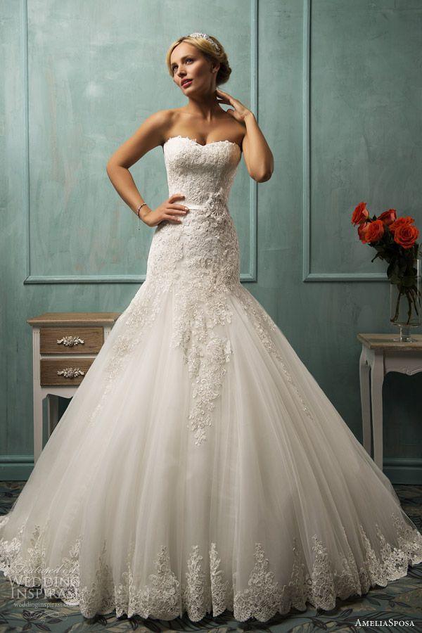 Wunderschöne Hochzeitskleider Von Amelia Sposa - Kollektion 2014 ...