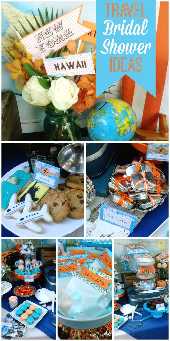Travel Bridal Wedding Shower Oh The Places We Ll Go 2130532 Weddbook