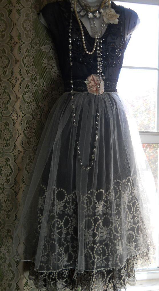 Vacances Perlé Robe Noir Soirée Fort De Pour Réservé Lisa fgaq8