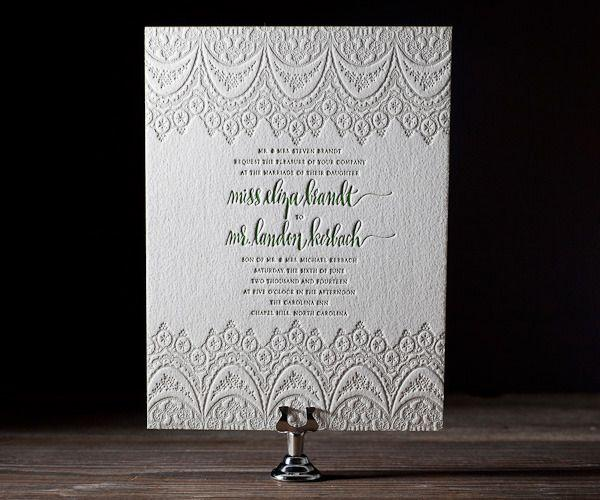Wedding - The Invitation.....
