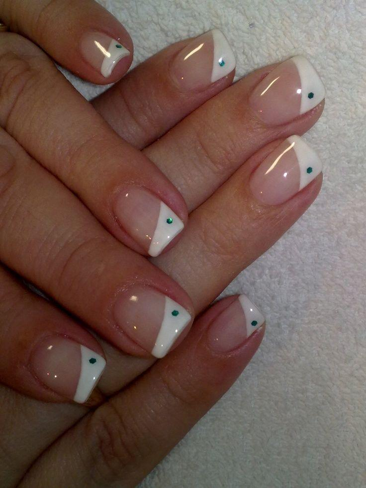 Wedding Nail Designs - Top 10 French Tip Nail Art Designs #2131258 ...