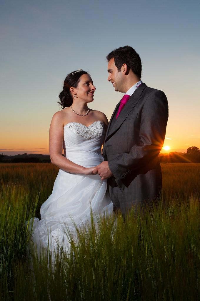 Wedding - The Sunset Couple