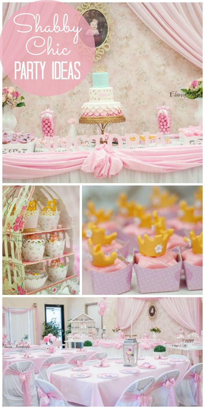 """Wedding - Birthday """"Shabby Chic """""""