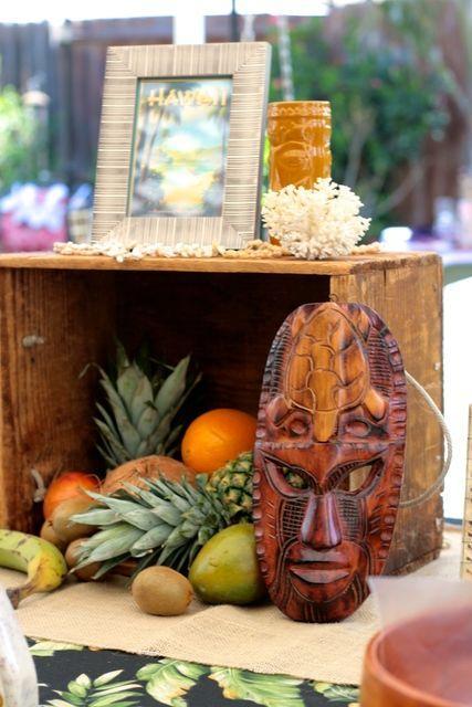 Wedding - Hawaiian Luau Bridal/Wedding Shower Party Ideas