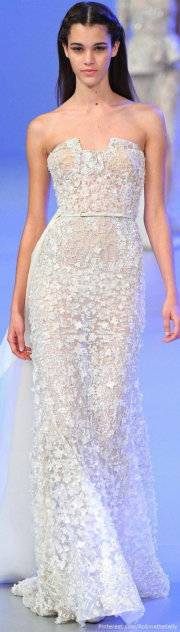 Hochzeit - Elie Saab Haute Couture Frühjahr / Sommer 2014