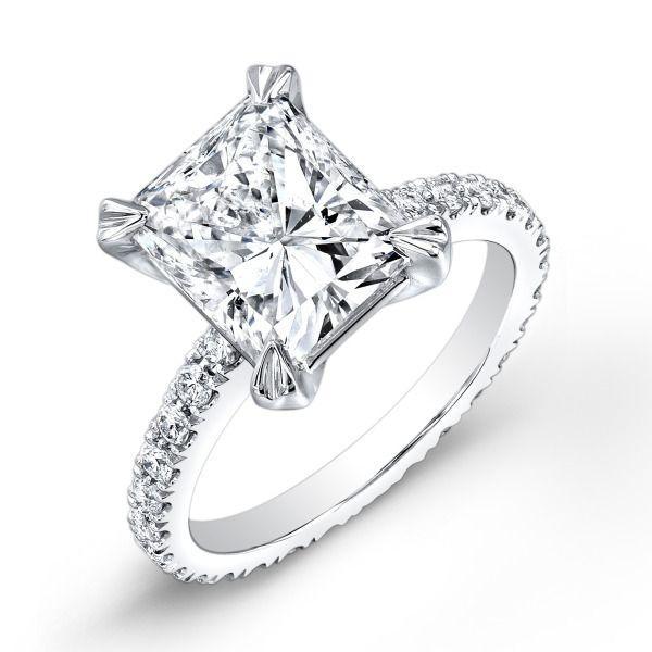 Свадьба - Diamond Mansion Настраиваемые Кольца Для Помолвки В Поддавки!
