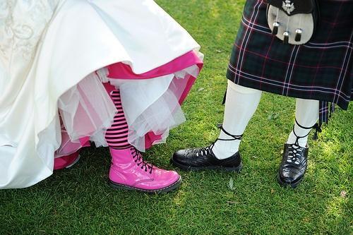 زفاف - حفلات الزفاف العروس، أحذية