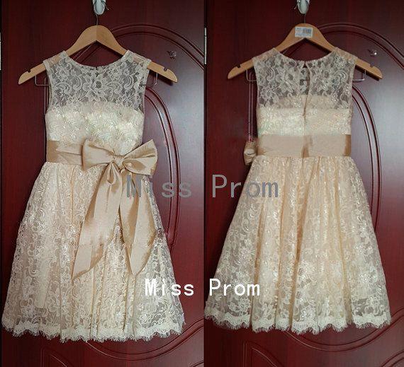 Spitze Blumen Madchen Kleid Hochzeits Blumen Madchen Kleid Hochzeits