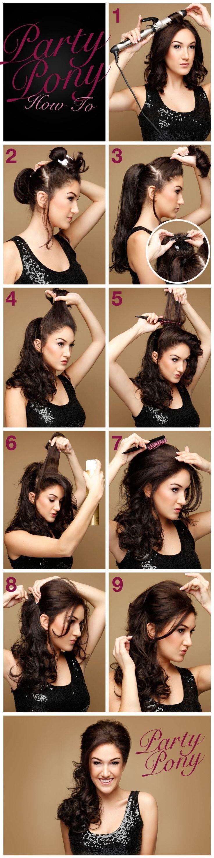 Причёски с локонами на длинные волосы пошагово