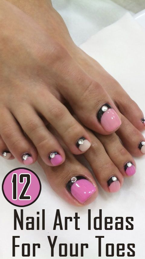 Wedding Nail Designs - 12 Nail Art Ideas For Your Toes #2133426 ...