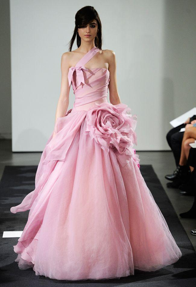 Wedding - Pink Wedding Dresses