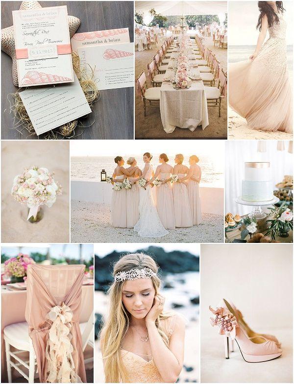 a120d00a8a Beach Wedding - Blush Beach Wedding Inspiration #2134302 - Weddbook