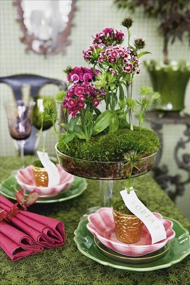 Wedding - Garden Tablescapes