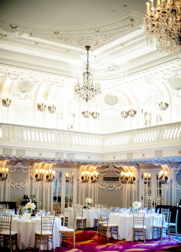 Свадьба - Утонченность в Чикаго Blackstone Renaissance Hotel