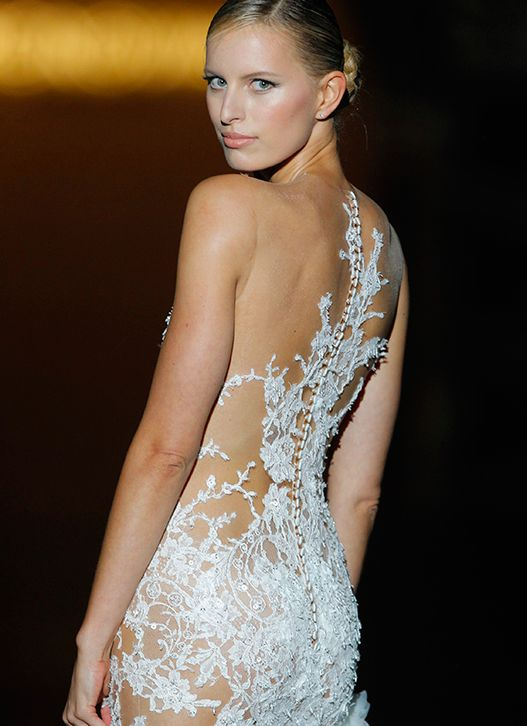 Rückenfreie Kleider - Rückenfreie Brautkleider #2134791 - Weddbook