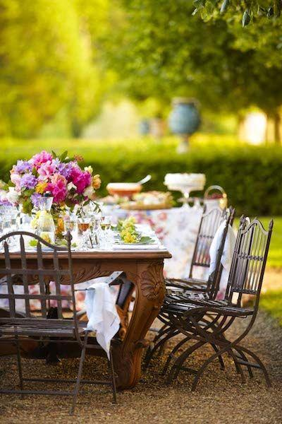Wedding - Spring Lunch Under The Trees