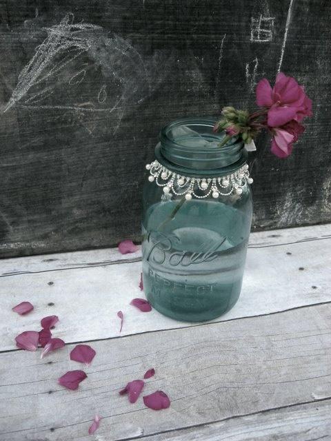 mason jar hochzeiten vintage gl ser 2135023 weddbook. Black Bedroom Furniture Sets. Home Design Ideas