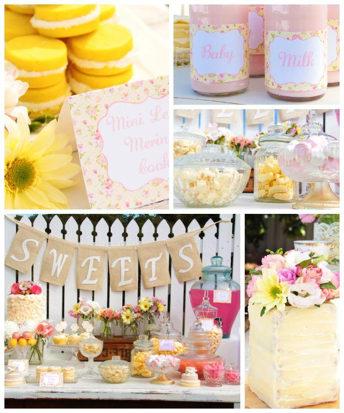 Wedding - Pastel Baby Shower {Party, Styling, Planning, Ideas, Cake}