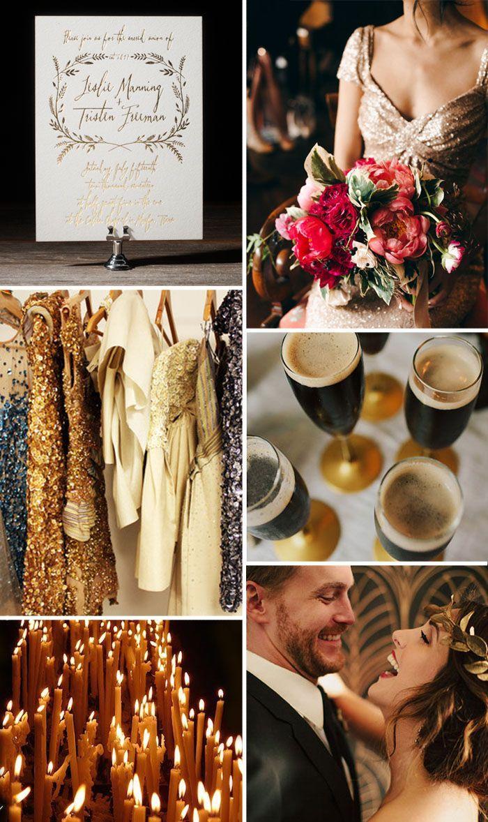 Свадьба - Золотую Свадьбу Вдохновение