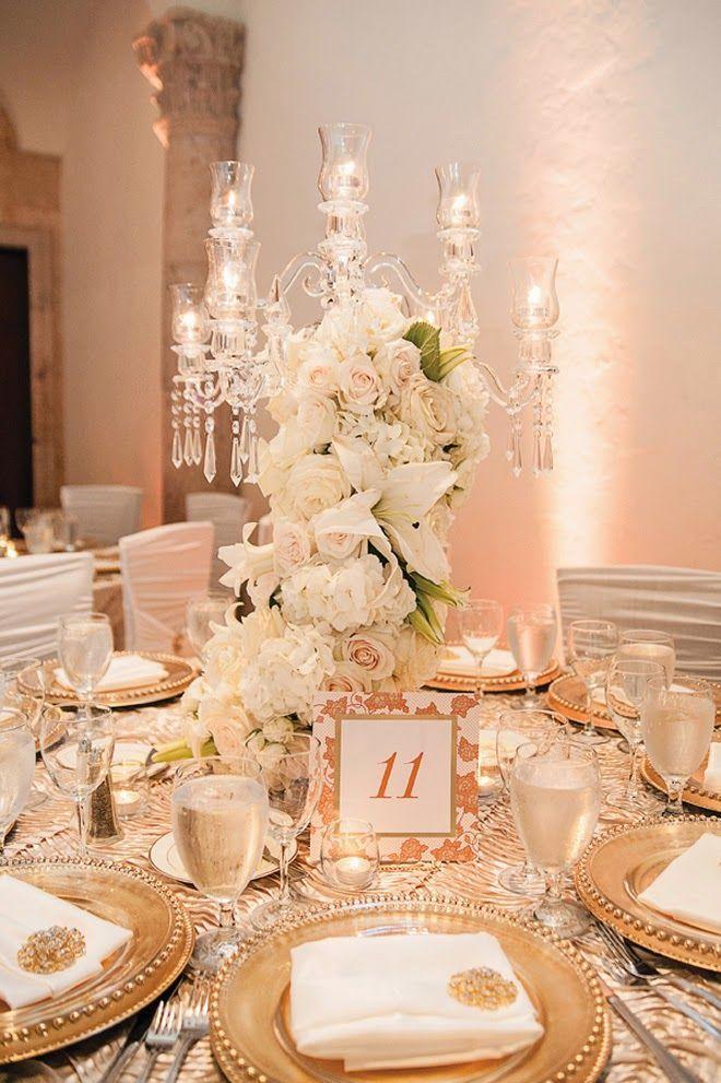 Mariage - ♥ ~ ~ ♥ • mariage ► Centres et la réception de décor