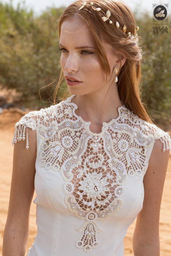 Wedding Bridal Long Lace Dress