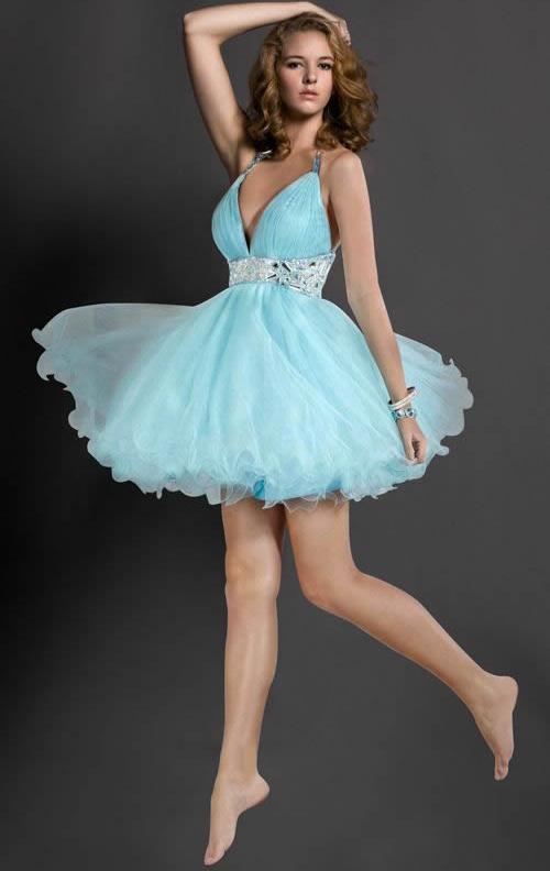 Свадьба - cute blue dress